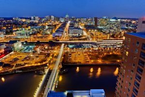 Skyline of Downtown Wilmington, DE