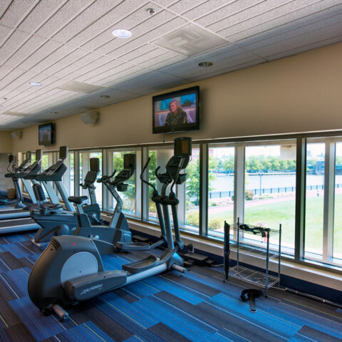 Christina Landing apartments fitness center