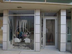 storefront window near apartment in wilmington de