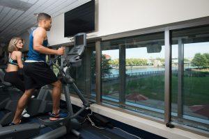 man exercising at apartment in wilmington de