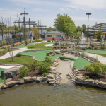 Mini golf near Residences at Christina Landing apartments